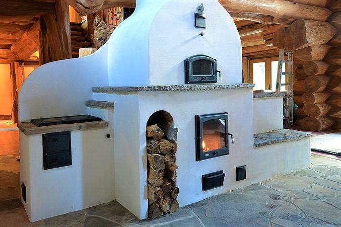 отопление дома русской печью